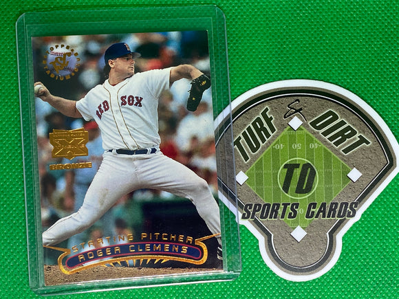 1996 Stadium Club Extreme Players Bronze #25 Roger Clemens