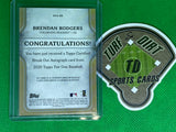 2020 Topps Tier One Break Out Autographs Bronze Ink #BOABR Brendan Rodgers 22/25
