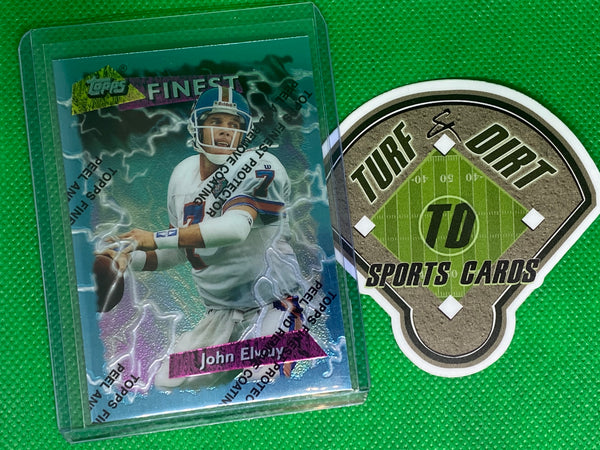 1995 Topps Finest Boosters #B182 John Elway