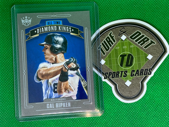 2020 Diamond Kings All-Time Diamond Kings Gray Frame #30 Cal Ripken