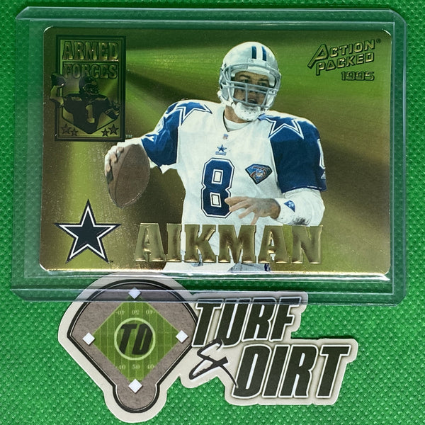 1995 Action Packed Armed Forces #AF3 Troy Aikman