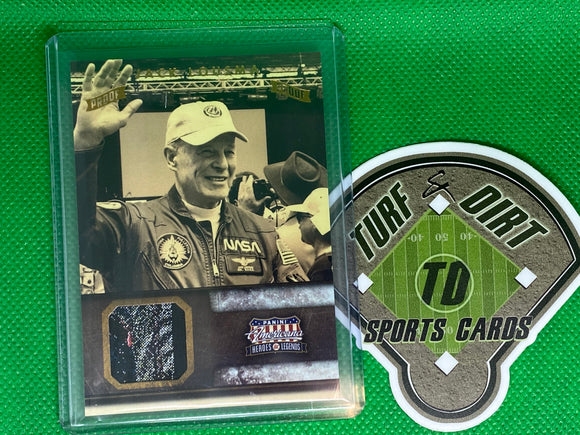 2012 Americana Heroes and Legends Materials Bronze Proofs #100 Jack Lousma 25/99