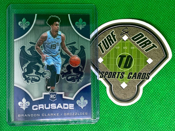 2019-20 Panini Chronicles #531 Brandon Clarke/Crusade