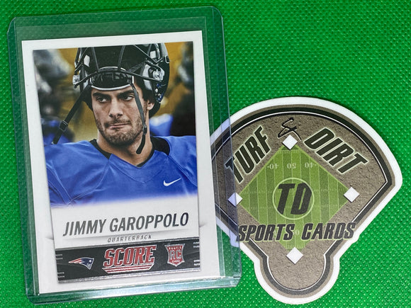 2014 Score #386 Jimmy Garoppolo RC