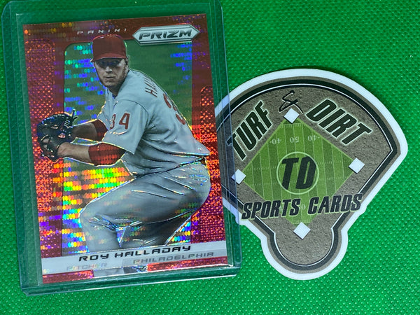 2013 Panini Prizm Prizms Red Pulsar #149 Roy Halladay