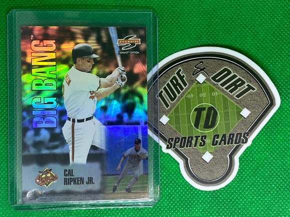 1995 Score Summit Edition Big Bang Insert Card # BB3 Cal Ripken Jr