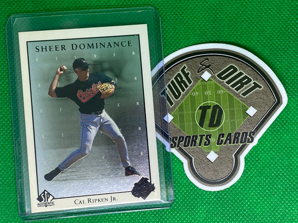1998 SP Authentic Sheer Dominance #SD8 Cal Ripken