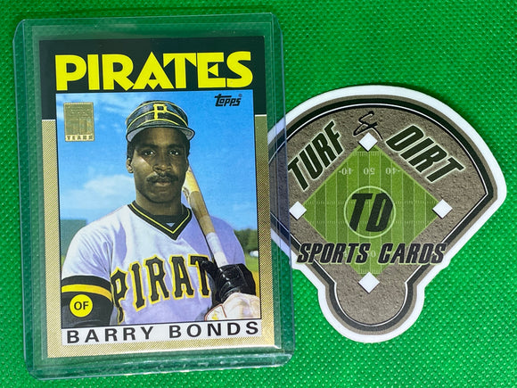 2001 Topps Traded Gold #T114 Barry Bonds 86