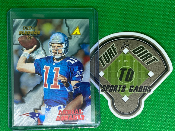 1995 Pinnacle Club Collection Aerial Assault #AA3 Drew Bledsoe