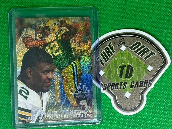 1997 Flair Showcase Row 0 #92 Reggie White