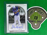2017 Leaf Perfect Game All-American Direct Set Blank Back Silver 1/1 Base Auto BA-KV1 Kevin Vargas 1 of 1