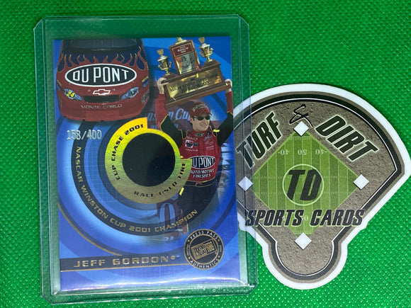 2001 Press Pass Cup Chase Die Cut Prizes #CCC1 Jeff Gordon Tire 158/400