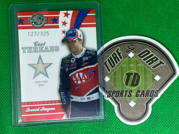 2008 Wheels American Thunder Cool Threads #CT12 David Ragan 127/325