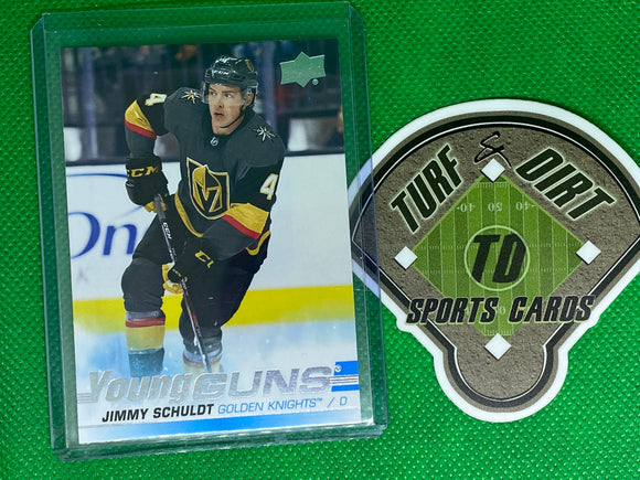 2019-20 Upper Deck #206 Jimmy Schuldt YG RC
