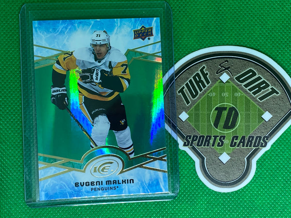 2018-19 Upper Deck Ice Green #31 Evgeni Malkin