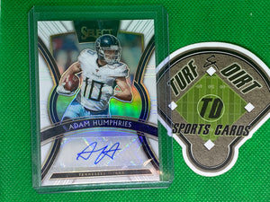 2019 Select TMall White Autograph #SP-AH Adam Humphries  22/35