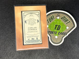 2020 Topps Allen and Ginter Mini Framed Relics #MFRCC Carlos Correa
