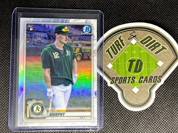 2020 Bowman Chrome Rookie Image Variations #87 Sean Murphy