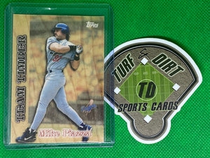 1997 Topps Team Timber #TT16 Mike Piazza