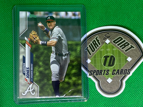 2020 Topps Base Set Photo Variations #47 Chipper Jones