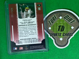 2004 Leaf Certified Materials Mirror Fabric Red #18 Barry Zito Jsy 25/150