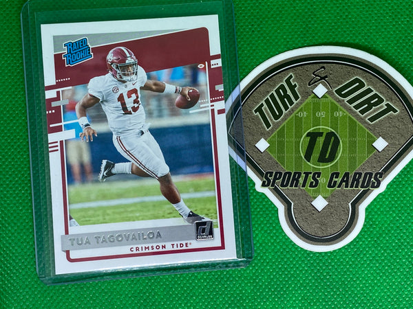 2020 Chronicles Draft Picks Donruss Rated Rookies Draft Picks #3 Tua Tagovailoa