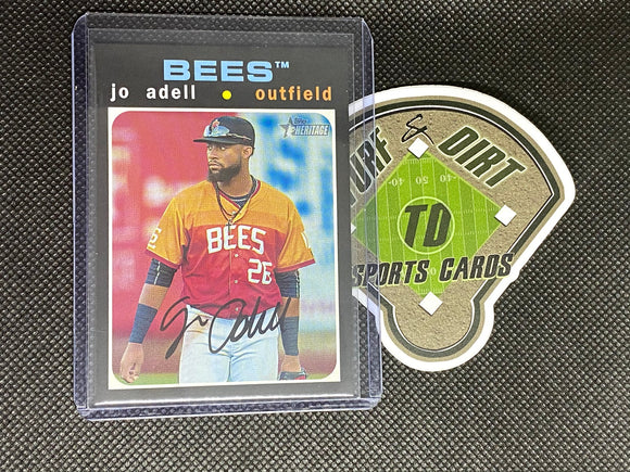 2020 Topps Heritage Minors #217 Jo Adell SP