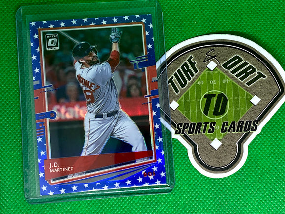 2020 Donruss Optic Spirit of 76 #178 J.D. Martinez 11/76