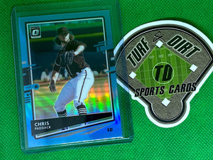 2020 Donruss Optic Carolina Blue #162 Chris Paddack 46/50