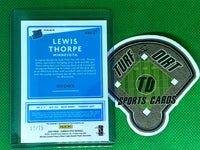 2020 Donruss Optic Rated Rookies Signatures Blue #40 Lewis Thorpe 12/75