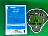 2020 Donruss Optic Rated Rookies Signatures Red Mojo #2 Brock Burke 59/99
