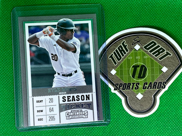 2017 Panini Contenders Draft Picks #12A Kyle Lewis/Batting