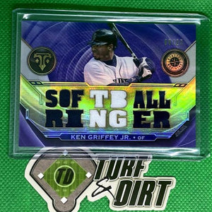 2019 Topps Triple Threads Relics Amethyst #TTRKG Ken Griffey Jr. 8/27