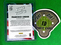 2020 Donruss Optic Stars and Stripes #9 Francisco Lindor CASE HIT