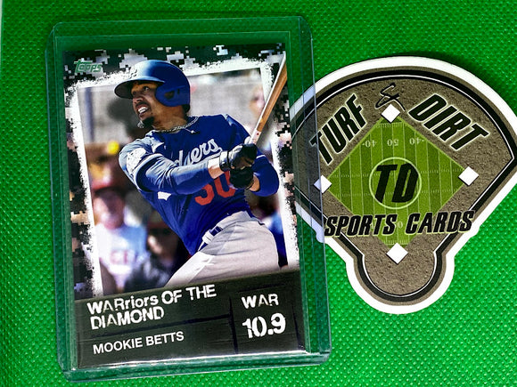 2020 Topps Warriors of the Diamond Black #WOD32 Mookie Betts #91/299