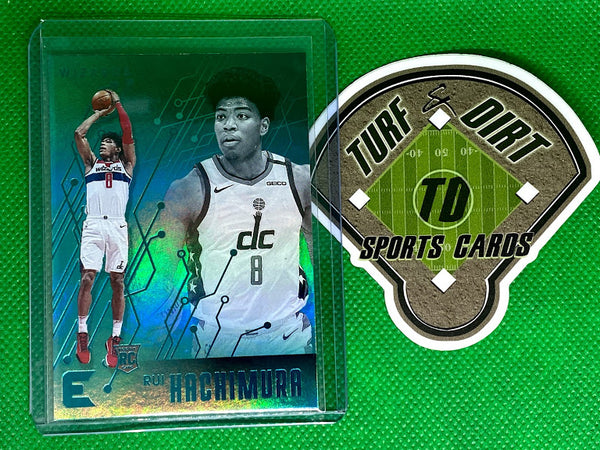 2019-20 Panini Chronicles Teal #203 Rui Hachimura/Essentials