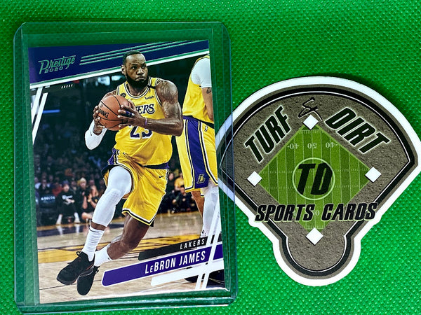 2019-20 Panini Chronicles #75 LeBron James/Prestige