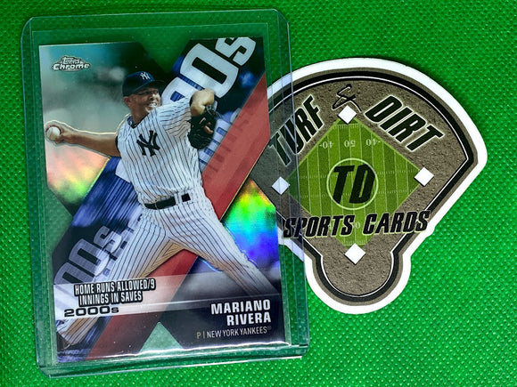 2020 Topps Chrome Decade of Dominance Die Cut #DOD2 Mariano Rivera
