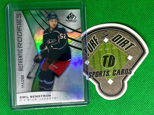 2019-20 SP Game Used Rainbow #196 Emil Bemstrom 111/299