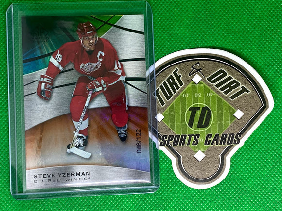 2019-20 SP Game Used Orange Rainbow #50 Steve Yzerman 46/122