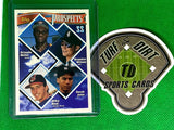 1994 Topps #158 Orlando Miller/Brandon Wilson/Derek Jeter/Mike Neal UER/Jeter AVG should be .270