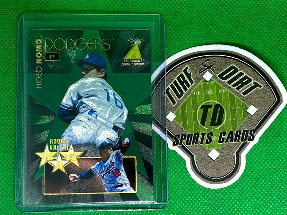 1995 Zenith Rookie Roll Call #7 Hideo Nomo