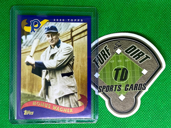 2020 Topps Archives Purple #262 Honus Wagner 39/175