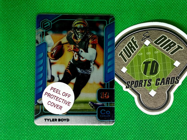 2020 Panini Elements Cobalt #12 Tyler Boyd #24/27