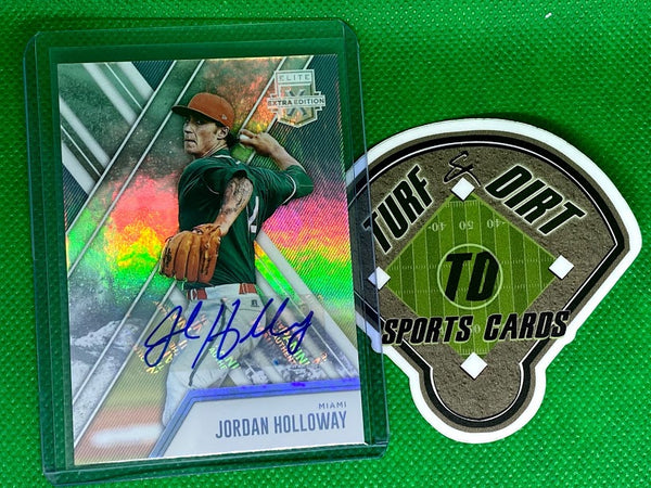 2017 Elite Extra Edition Autographs #126 Jordan Holloway