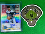 2019 Donruss Optic Rated Rookies Signatures Holo #27 Kevin Newman