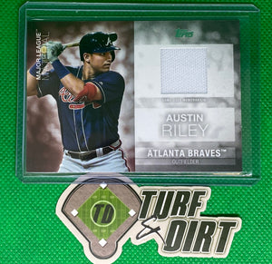 2020 Topps Major League Materials #MLMARI Austin Riley GAME USED