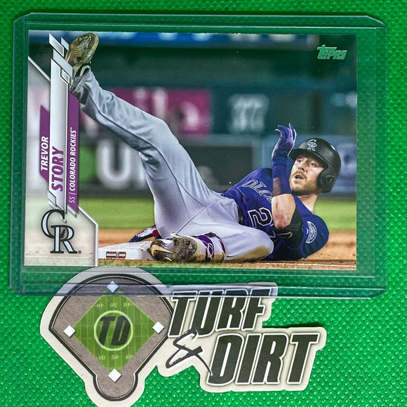 2020 Topps Photo Variation #637 Trevor Story