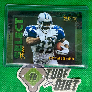 1995 Select Certified Select Few 1028 #2 Emmitt Smith 1/1028