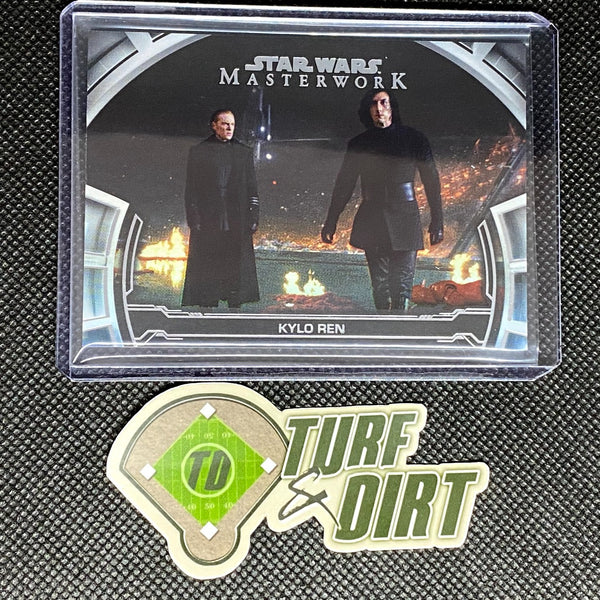 2019 Star Wars Masterwork Defining Moments Rainbow Foil #DM22 KYLO REN #17/299